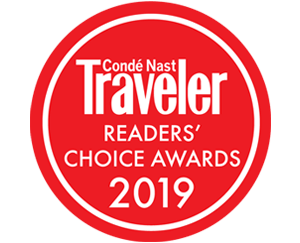 Conde Nast Traveler Readers Choice Awards 2019
