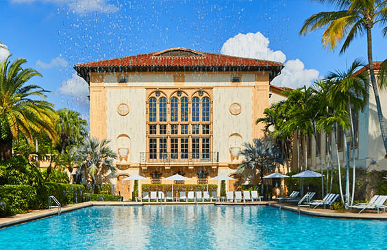 Luxury Hotels In Miami The Biltmore Hotel In Coral Gables Florida